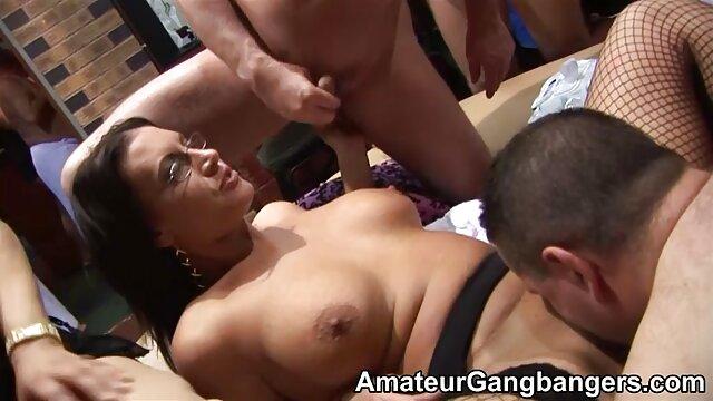 inspectrice señoras calientes caseros en gangbang